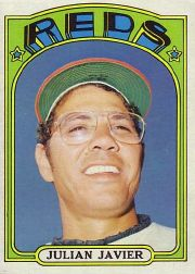 1972 Topps Baseball Cards      745     Julian Javier